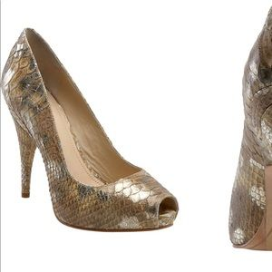 Joan & David Metallic Pump